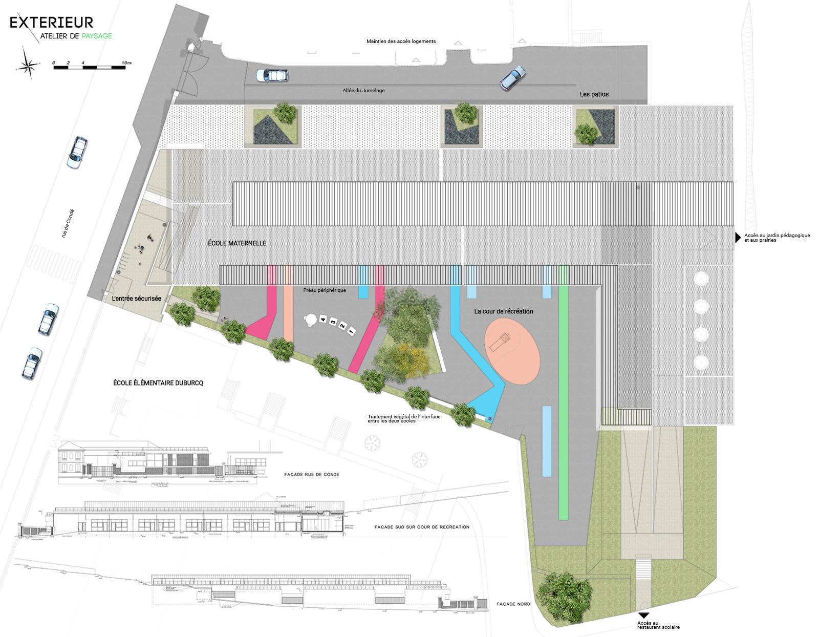Plan école maternelle La Ferte sous Jouarre
